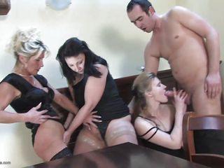 Фото секса зрелых в чулках