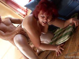 Порно старых толстых бабушек фото